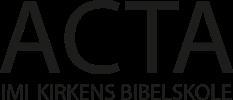 Acta Bibelskole Retina Logo